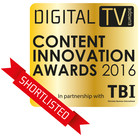 DigitalTV Content Innovation Logo